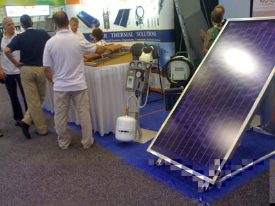 Free Hot water InterSolar Booth
